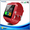 Cheapest 1.44 inch Touch Screen CE RoHS U8 Smart Watch Android Phone with Camera and SIM Card Slot