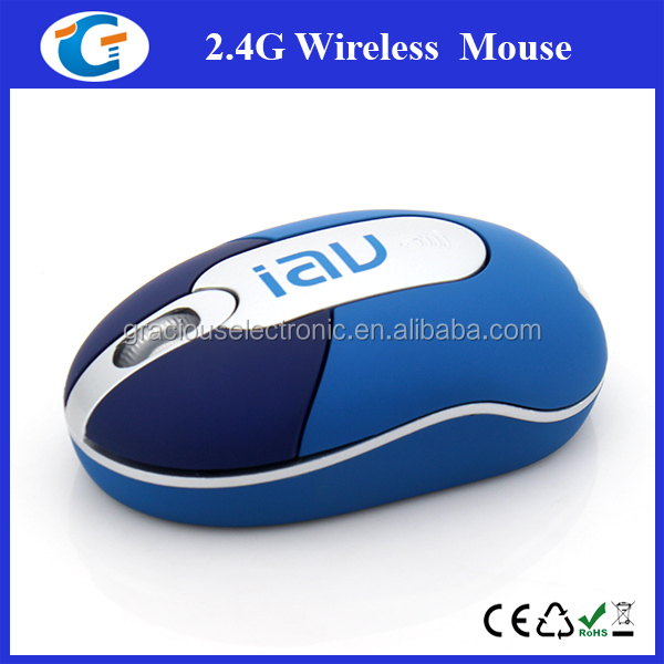 Mini cute wireless mouse optical mouse for laptop
