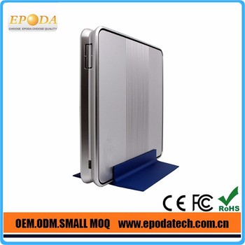 Small fanless pc mini pc intel Dual-core 1.8GHz Low price and best quality