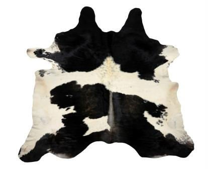 Cowhide Natural Black and White