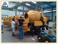 mini portable concrete mixer pump JBHBTS30-13-37S for sale