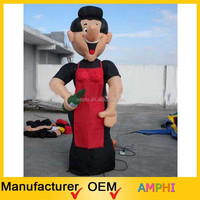 2015 newest type inflatable Boy/Holiday Figure/Inflatable Advertising