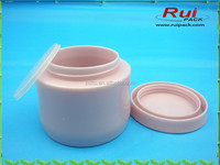 High quality!Double layer facial cream jars,empty PP cream container for cosmetic packaging,80/100/150g