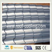 Eco-Friendly Hot Selling Made In China Heat Insulation White Cooling Roof Tile Building Materials