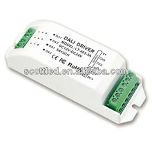 3 channel 0-10v signal digital dali controller led dimming driver