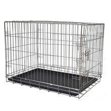 Manufacture large wire folding metal dog crate extra large dog house