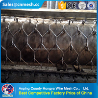 Alibaba china chicken galvanized hexagonal wire mesh With Low price