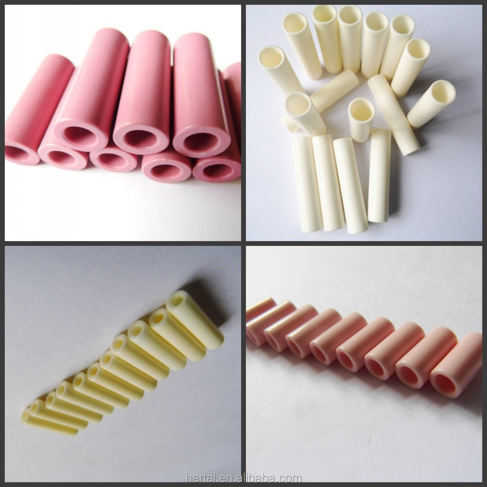 Various Industrial Ceramic parts Ceramic Tube Guides for creel tube system , alumina ceramic guider