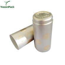 YASON pet shrink wraping soft drink labels heat shrink sleeve for plastic container hot sale shrink caps for wine bottles