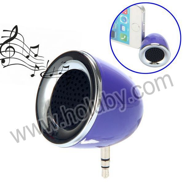Portable External Mini 3.5mm Ear Jack Mobile Phone Speaker for Mobile Phone iPad iPhone MP3