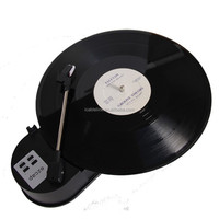 Portable Phonograph Mini USB Turntable Record Player Capture To MP3 USB Flash Drive Converter With TF Slot