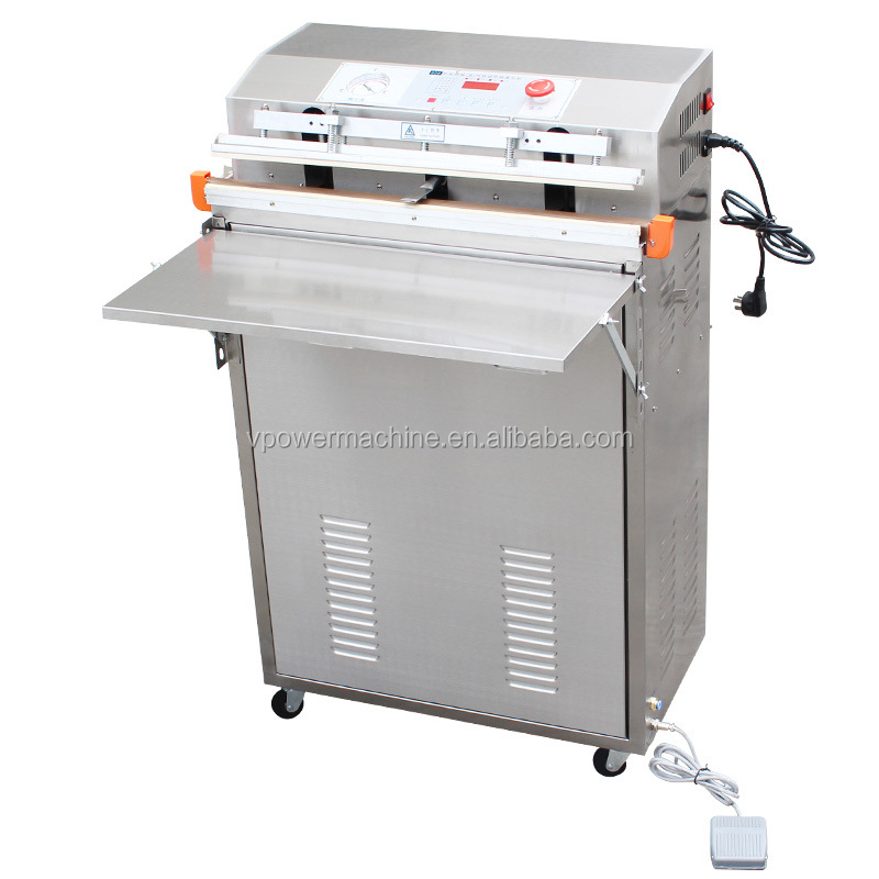 600 External air-exhaust vacuum packaging machine sealing vacuum and air charging multi-functions packaging machine