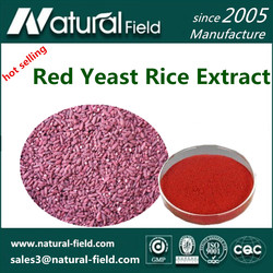 Top Quality Monascus Purpureus Red Yeast Rice powder 0.2%- 5%