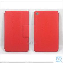 Three folding Basketball lines pressed leather case for Google Nexus 7 2/II/2nd Gen