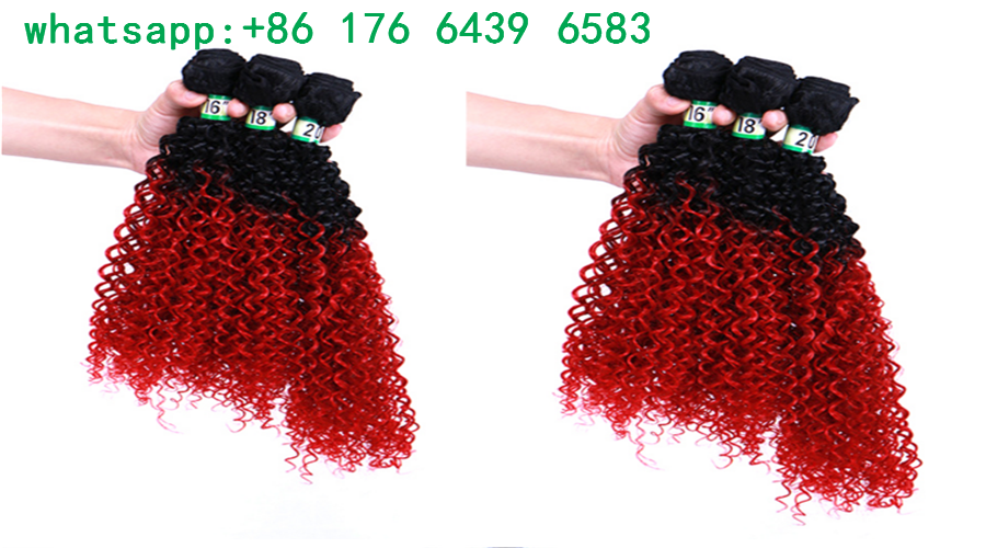Ombre 1B/BUG 8pcs freetress deep wave twist Synthetic Braiding Hair Jerry curly