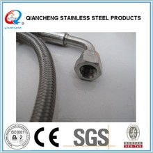 stainless steel wire braided fire sprinkler flexible hose