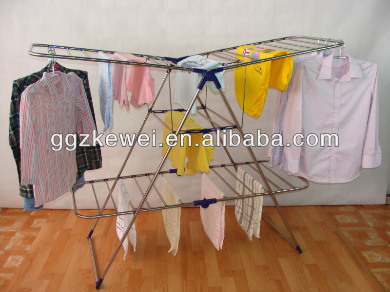Stainless Steel Folding Clothes Drying Rack HL-5018