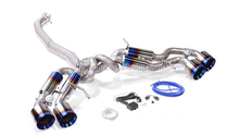 titanium alloy exhaust catback for gtr35
