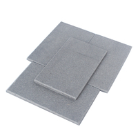 High strength fireproofing waterproof materials acoustic wall boards