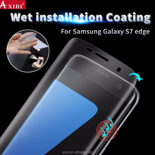 Case Friendly Full Coverage No Lifted Edge Wet Applied HD Clear Film Screen Protector for Samsung Galaxy S7 Edge