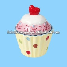 Unique Ice Cream Ceramic Cupcake Holder