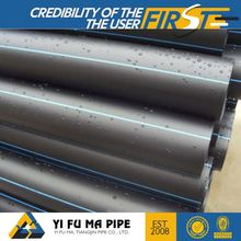 China supply 16mm-2000mm excellent standard length hdpe pipe