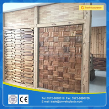 2016 new design cherry decorative thin wood wall panel