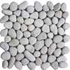 Mosaic Regular Pebbles White
