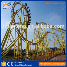 Small and cheap roller coaster slides /amusement rides big caterpillar roller coaster/ children slides for sale