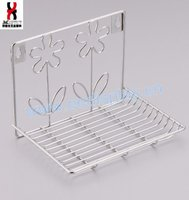 Waterproof Matt Wire Corner Wire Hanging Basket Bathroom Soap Shower Rack