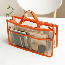 Beauty Travel Toiletry Cosmetic Makeup Case Clear Pvc Toiletry Bag