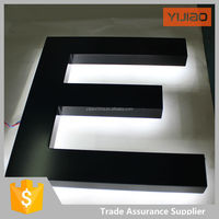Custom Metal backlit& edge lit Led Letters Sign for Display and Advertising