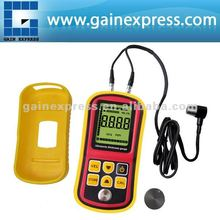 Digital Ultrasonic Wave Velocity Thickness Meter Tester Gauge Metal and Non-Metal 1.2~225.0mm (Steel) Range
