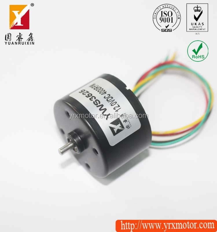 Small maxon high power electric dc worm gear motor