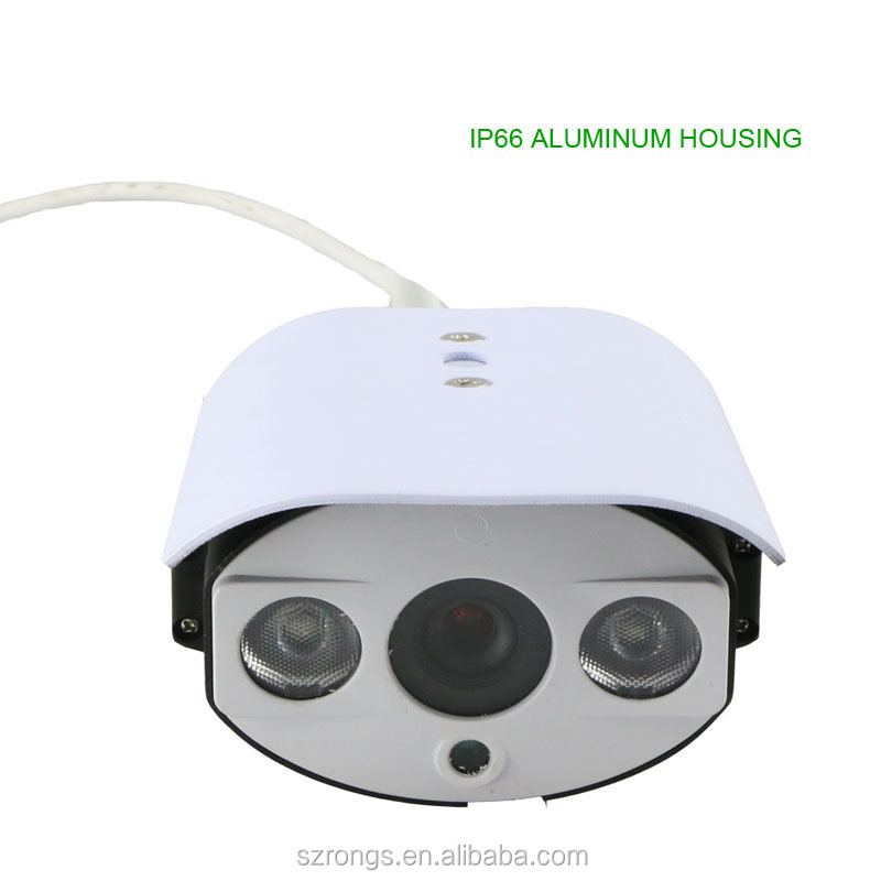 hot selling 720P outdoor 50m IR distance 4x zoom POE bullet IP security camera