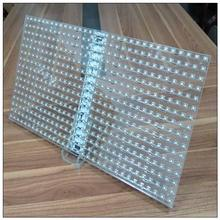 soft led glass display tempered glass commercial menu board P4.75 led module