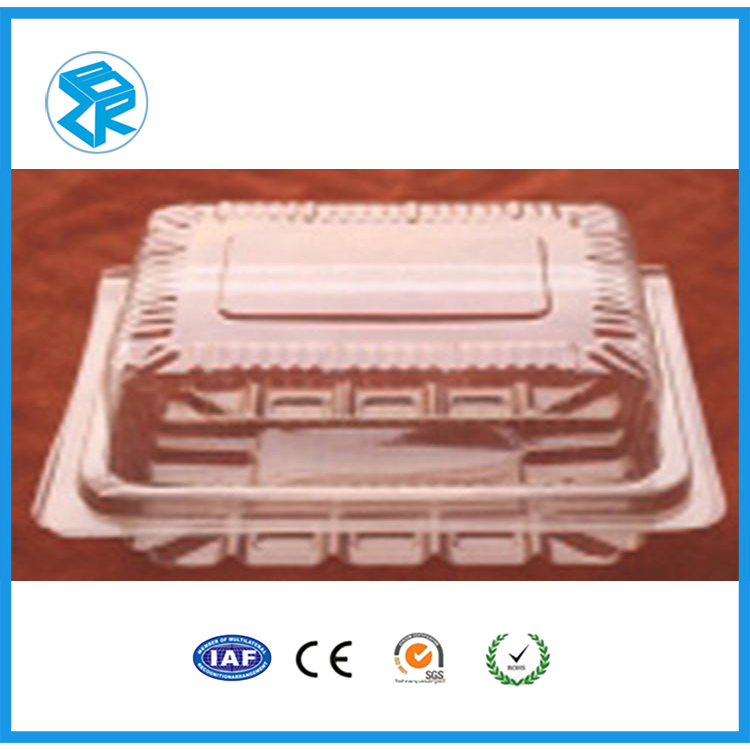 High quality disposable plastic containers plastic boxes packs stationary blister packaging