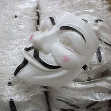 3D Movies V Wholesale Halloween Props V For Vendetta Masks