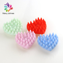 Hot Sale Brush Head Silicone Shampoo Scalp Massager
