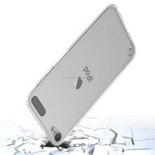 Factory Direct Sell Clear TPU Bumper Cover Smartphone Case For Apple Ipod Touch 5/6