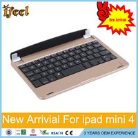High quality mobile bluetooth keyboard for ipad mini 4 for ipad mini wireless bluetooth keyboard