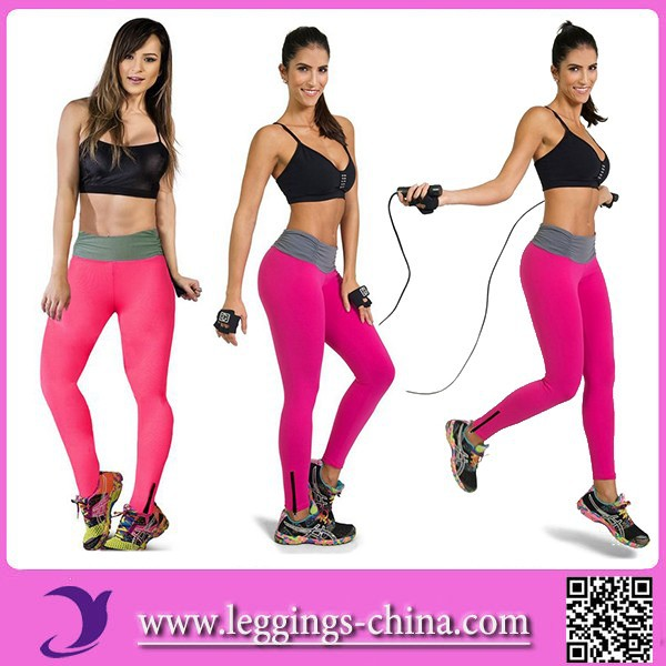 2016 YXDK003 Nude Girl Women Sexy Yoga Tights Leggings Fitness