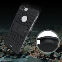 Shockproof Stand Hybrid Silicone Rubber Cover Case For iPhone 7/7plus