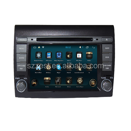 Android car dvd for Fiat Bravo 2007- 2012 Touch Screen Car DVD GPS Navigation System Auto Radio Stereo