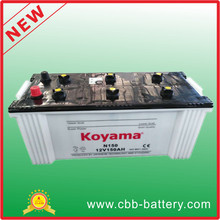 Dry charged Truck battery N150
