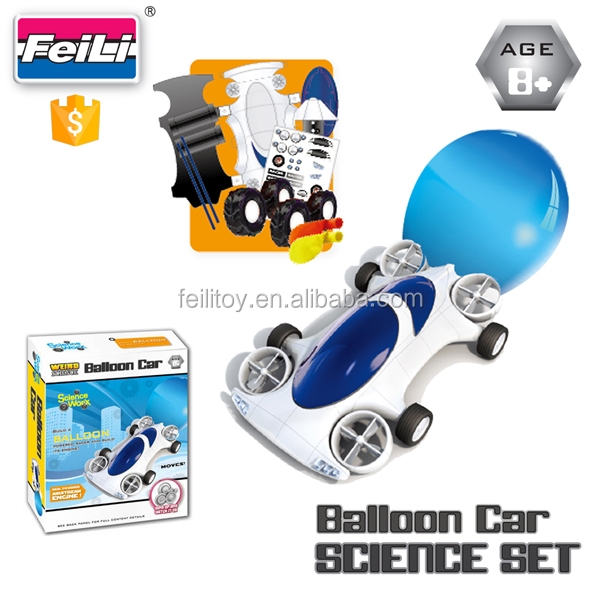 craft and creative toys science set balloon car educational toys for kids diy science kit