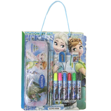 Custom water colors pen suit cartoon printing portable stationery set