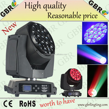 GBR Wholesale factory price LED Aura Moving Head lights Wash Zoom 19X10W RGBW /LED Aura Zoom Wash Hotel dj disco Lights