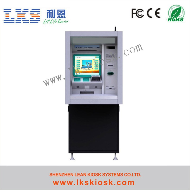 Display Stand Cash Dispenser Atm With Keyboard