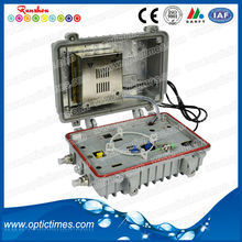 high quallity outdoor 4 ways return cctv fiber optic transmitter receiver
